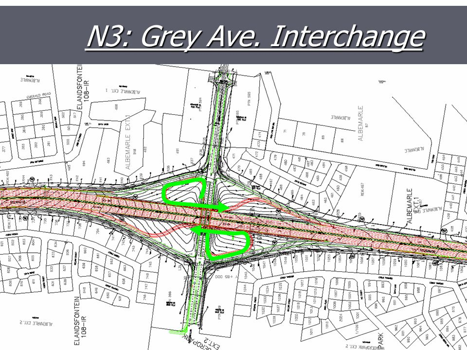 N3: Grey Ave. Interchange