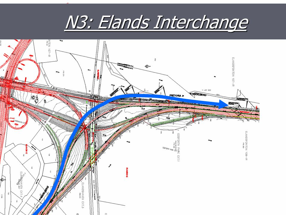 N3/N12 Elands Interchange N3: Elands Interchange