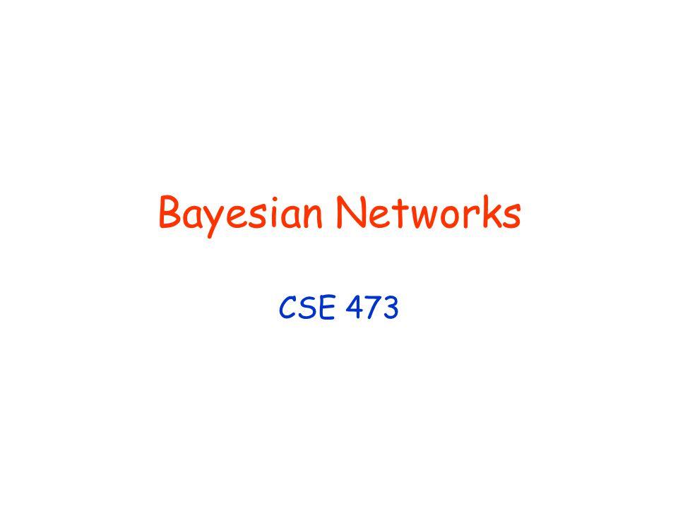 Bayesian Networks CSE 473
