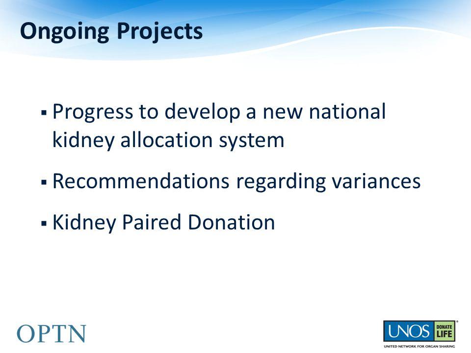 Kidney Transplants by Organ Sharing