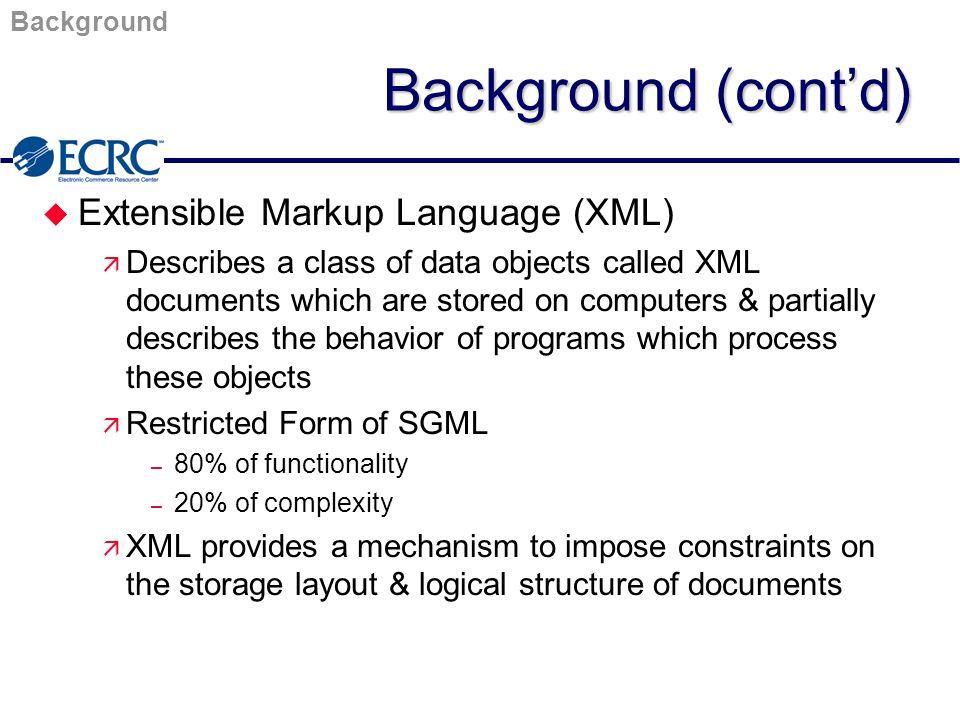 XML/EDI The Five Technologies 0f XML/EDI