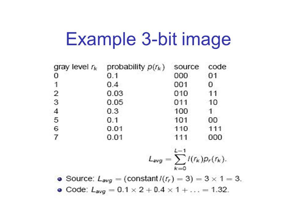 Example 3-bit image