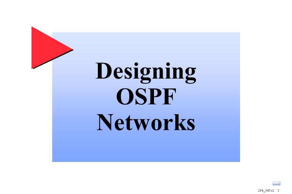 Designing OSPF Networks 284_045/c21