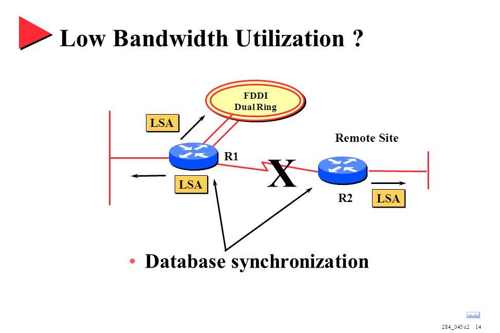 284_045/c214 FDDI Dual Ring Low Bandwidth Utilization .