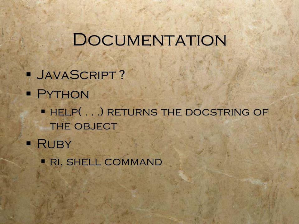 Documentation  JavaScript .