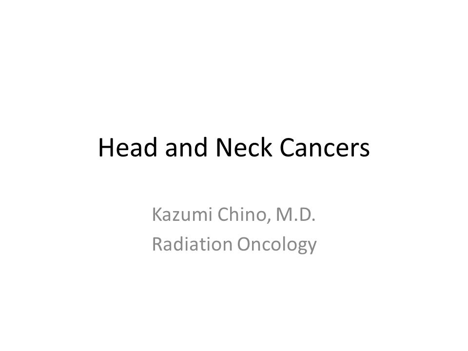 Nasopharyngeal Cancer Sx's Nasal obstruction, bleeding, discharge Hearing problems if eustachian tube obstructed, otitis media Headaches Cranial nerve palsy with involvement of the base of skull Neck mass, particularly at the mastoid tip