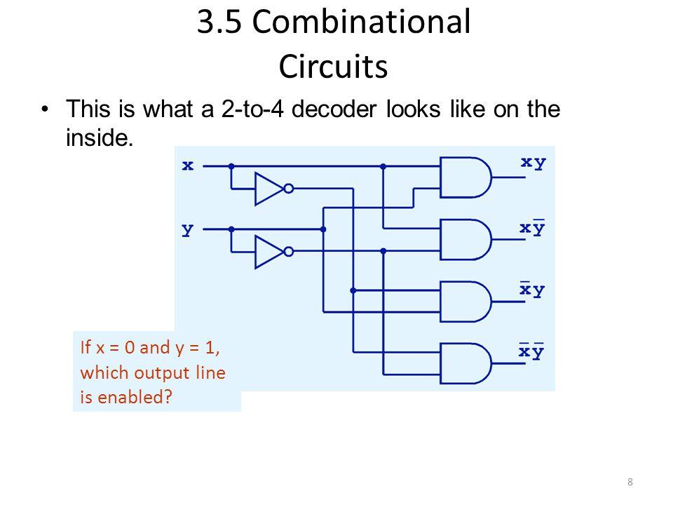 Copyright © 2007 Elsevier 4- Bit Manipulations: Example 2 module mux2_8(input [7:0] d0, d1, input s, output [7:0] y); mux2 lsbmux(d0[3:0], d1[3:0], s, y[3:0]); mux2 msbmux(d0[7:4], d1[7:4], s, y[7:4]); endmodule Synthesis: Verilog: