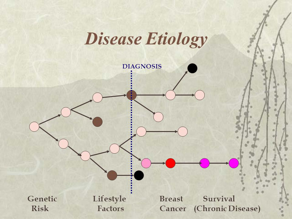 Disease Etiology Genetic Lifestyle Breast Survival Risk Factors Cancer (Chronic Disease) DIAGNOSIS