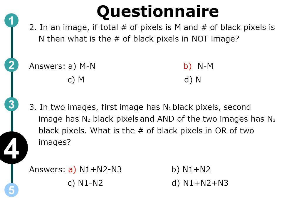 Questionnaire 2.