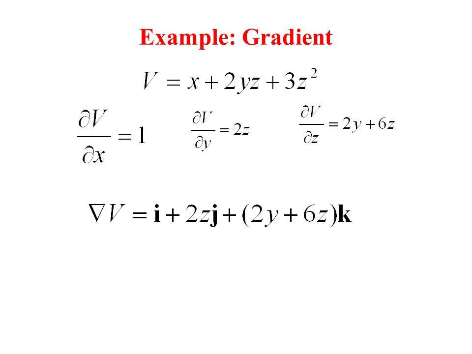 Example: Gradient