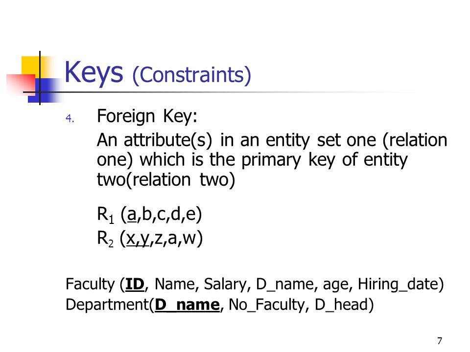 28 Second Normal Form: 2NF Example: R(PartWarehouseAddressQuantity) P1W1Frostburg25 P2W1Frostburg30 P3W2Cumberland32 P4W4Frostburg25 P4W1 What is the primary key.