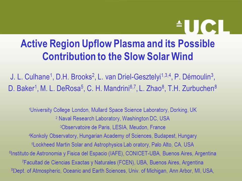 Active Region Upflow Plasma and its Possible Contribution to the Slow Solar Wind J.