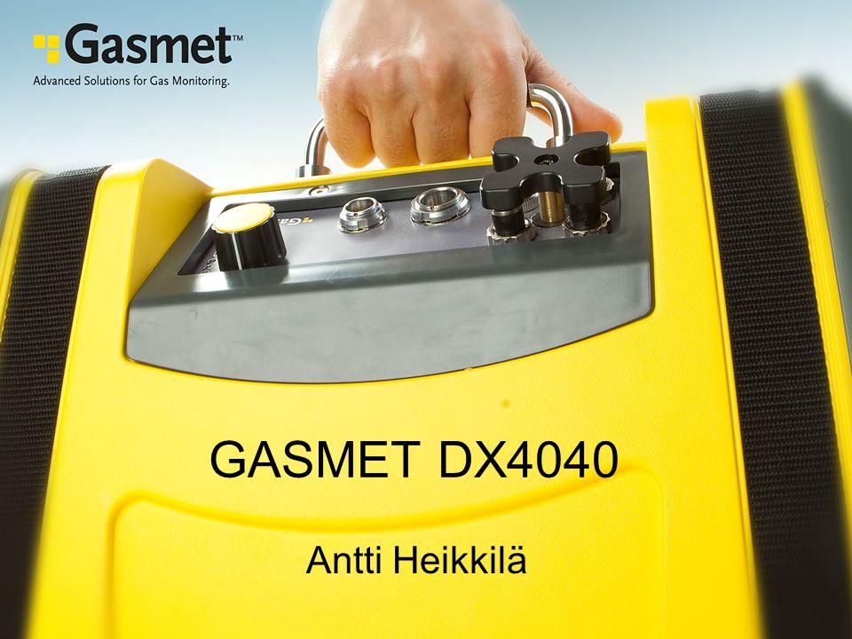 GASMET DX4040 Antti Heikkilä