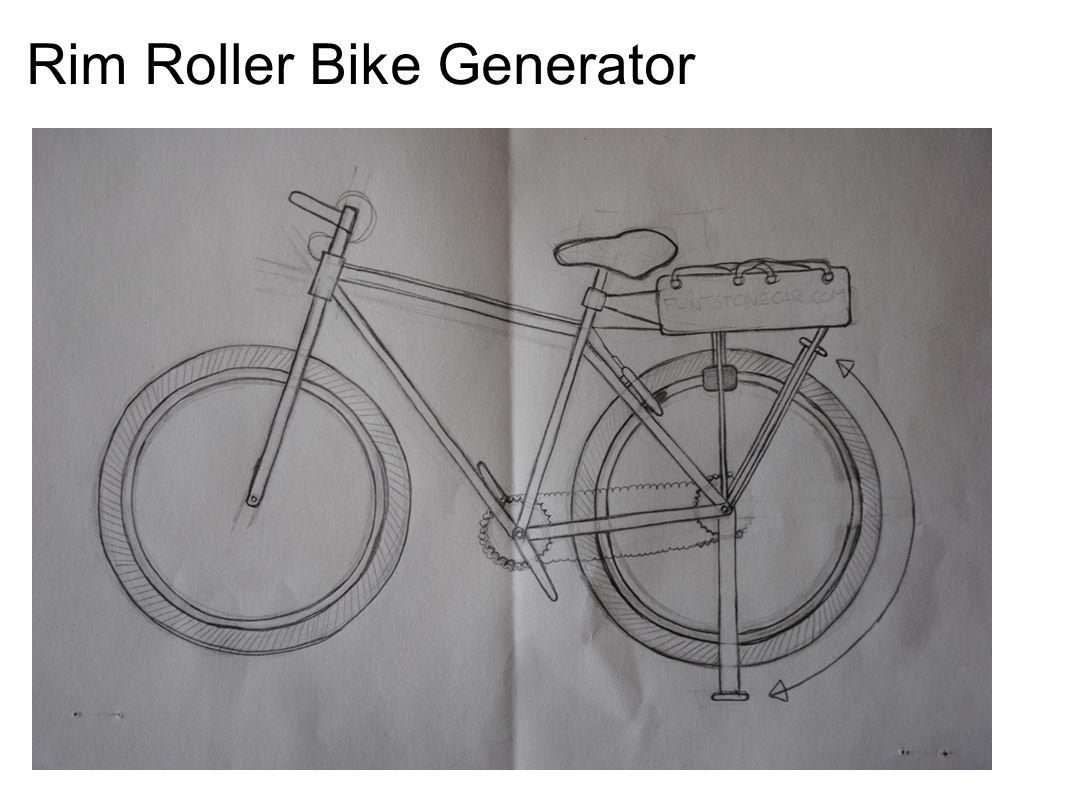 Rim Roller Bike Generator
