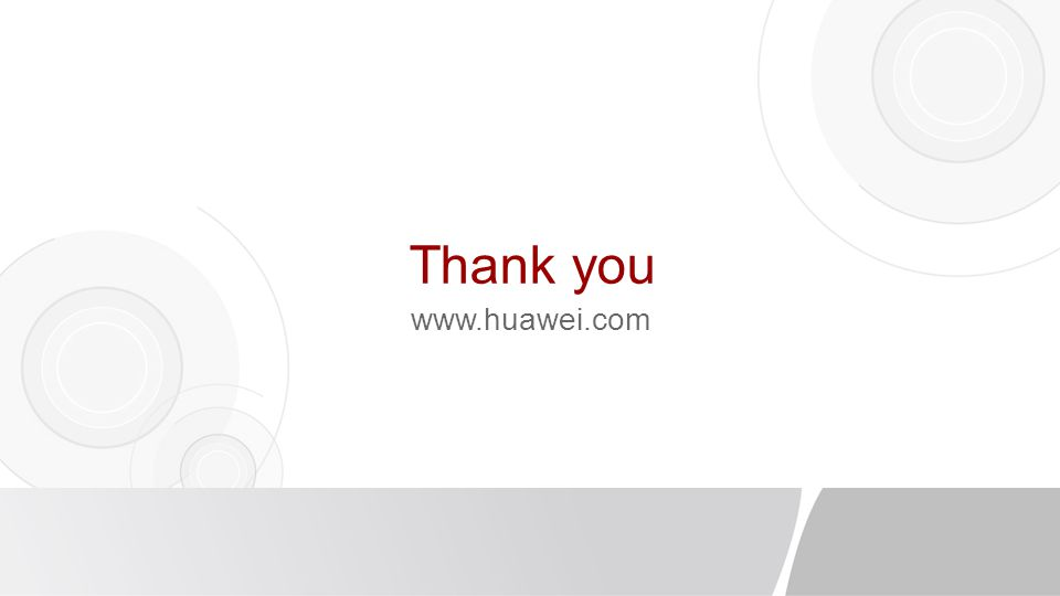 Thank you www.huawei.com