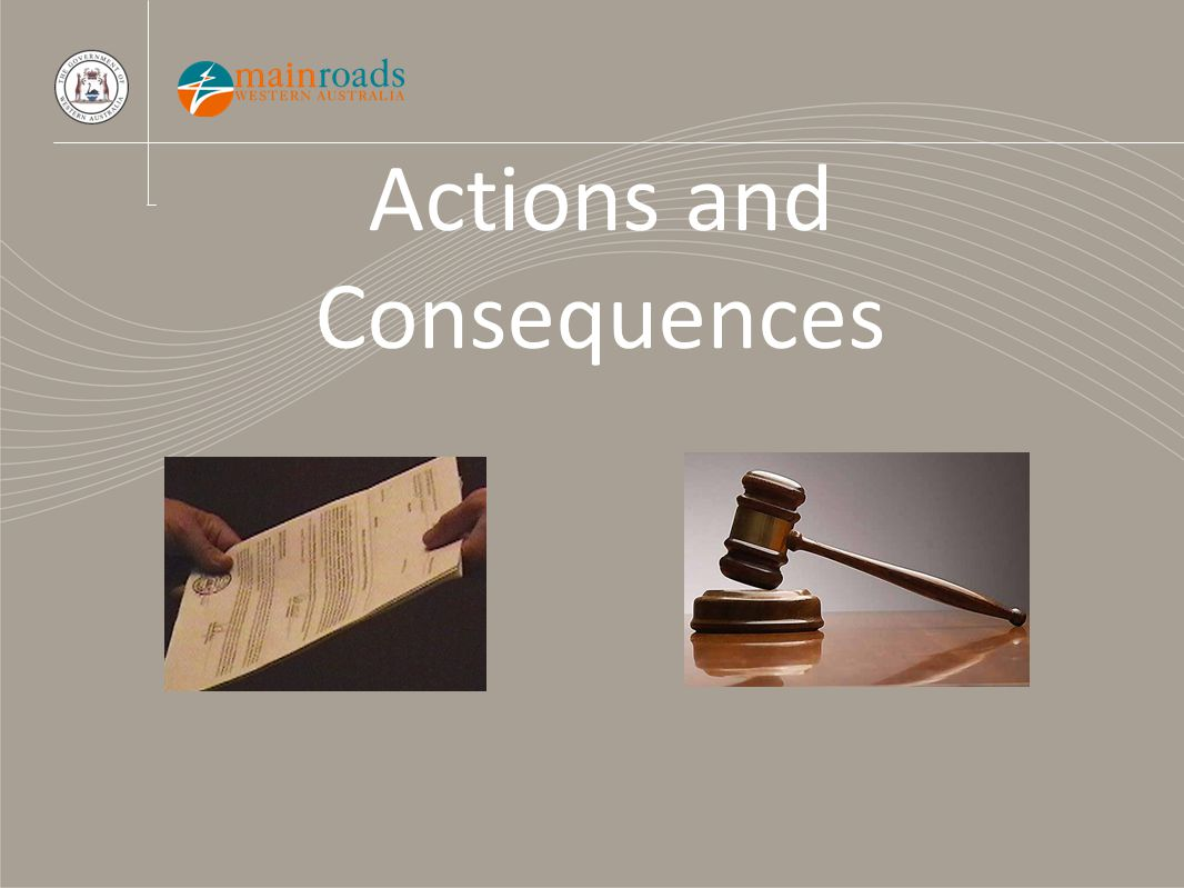 Actions and Consequences