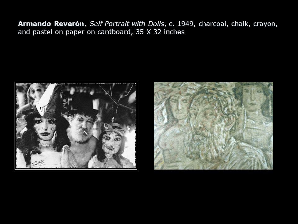 Armando Reverón, Self Portrait with Dolls, c.