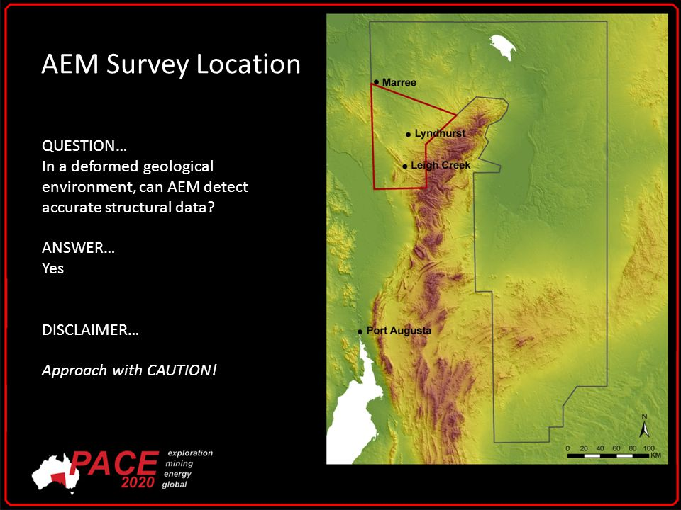 AEM Survey Location QUESTION… In a deformed geological environment, can AEM detect accurate structural data.