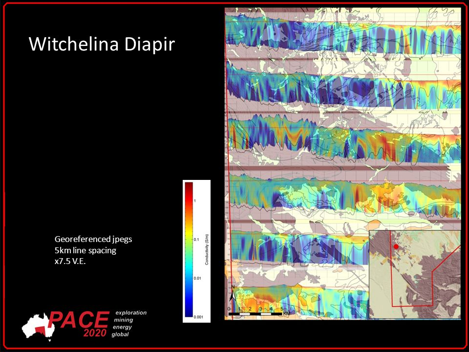 Witchelina Diapir Georeferenced jpegs 5km line spacing x7.5 V.E.