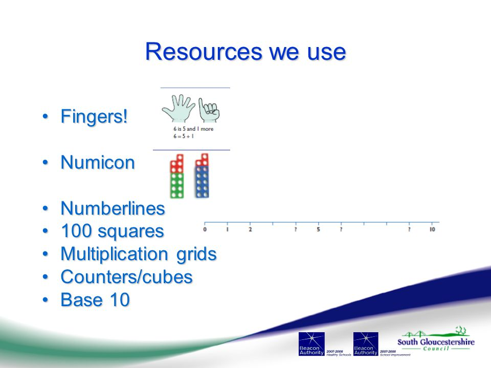 Resources we use Fingers!Fingers.
