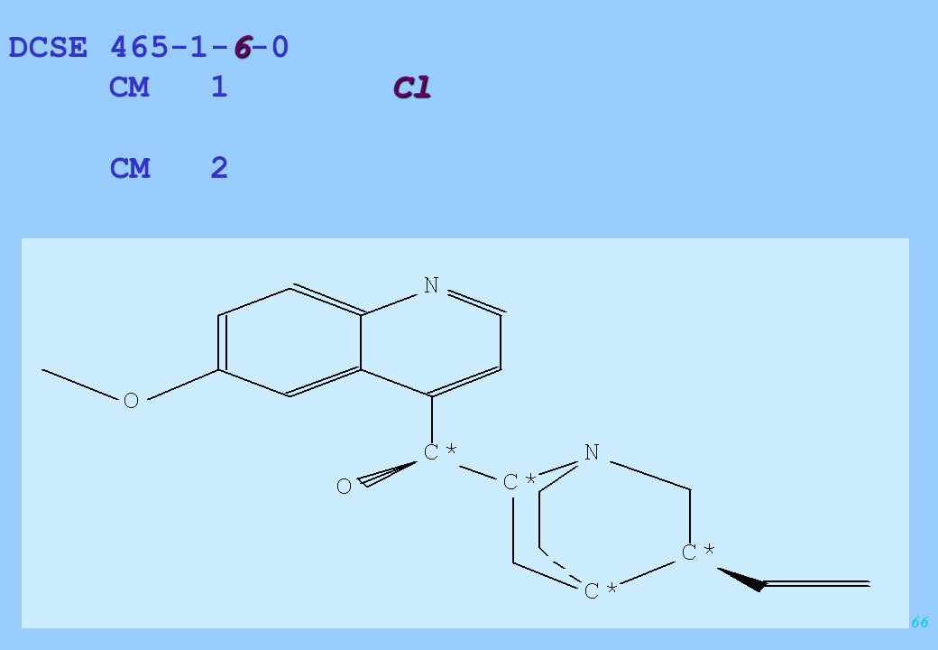 166 6 DCSE 465-1-6-0 Cl CM 1 Cl CM 2