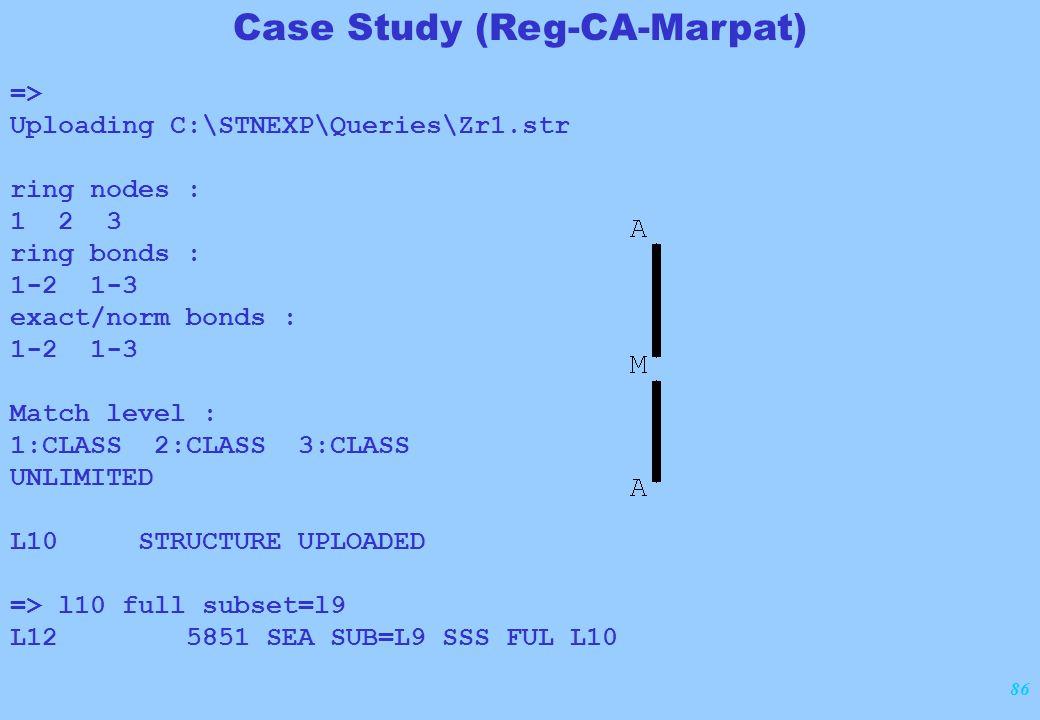 86 => Uploading C:\STNEXP\Queries\Zr1.str ring nodes : 1 2 3 ring bonds : 1-2 1-3 exact/norm bonds : 1-2 1-3 Match level : 1:CLASS 2:CLASS 3:CLASS UNL