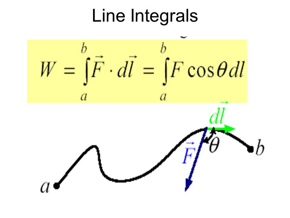 Line Integrals
