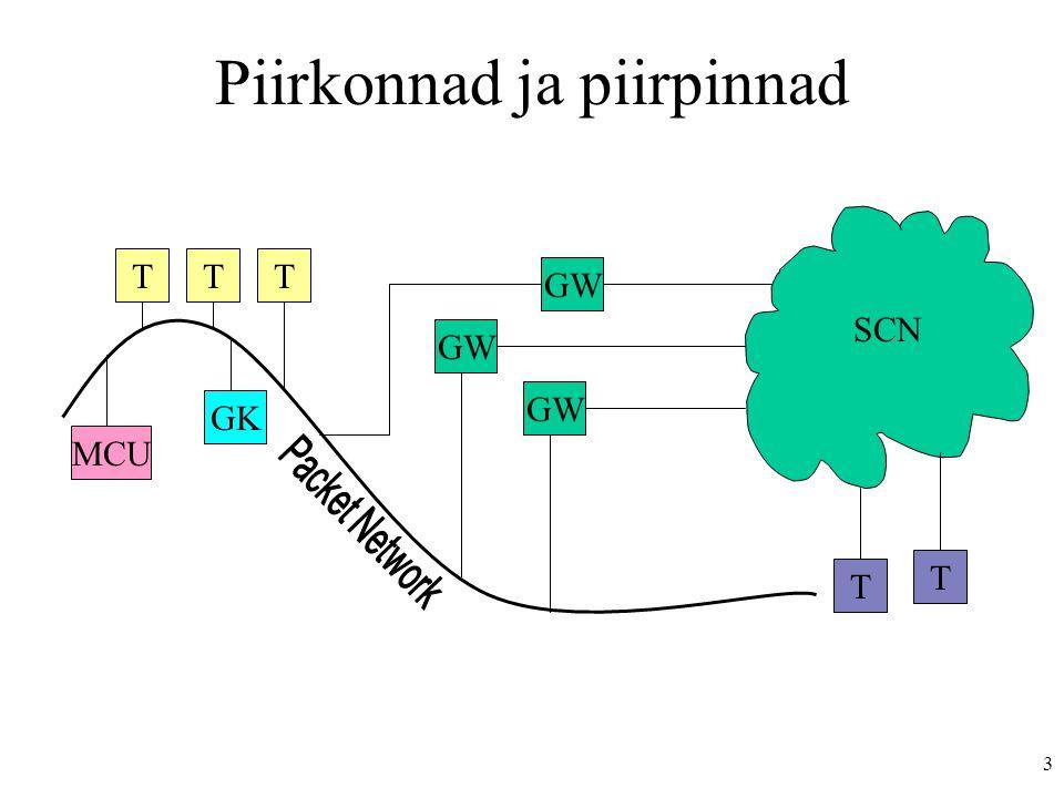 4 STM 1 155 Mb/s VCI-100 VCI-101 VCI-100 VCI-101 VPI-10, 50 Mb/s VPI-20, 60 Mb/s Virtuaalsed teed ja kanalid (VPI, VCI)