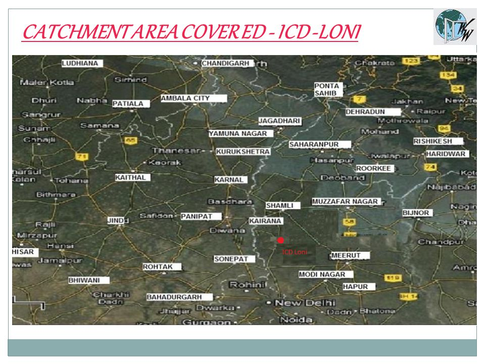 CATCHMENT AREA COVER ED - ICD -LONI