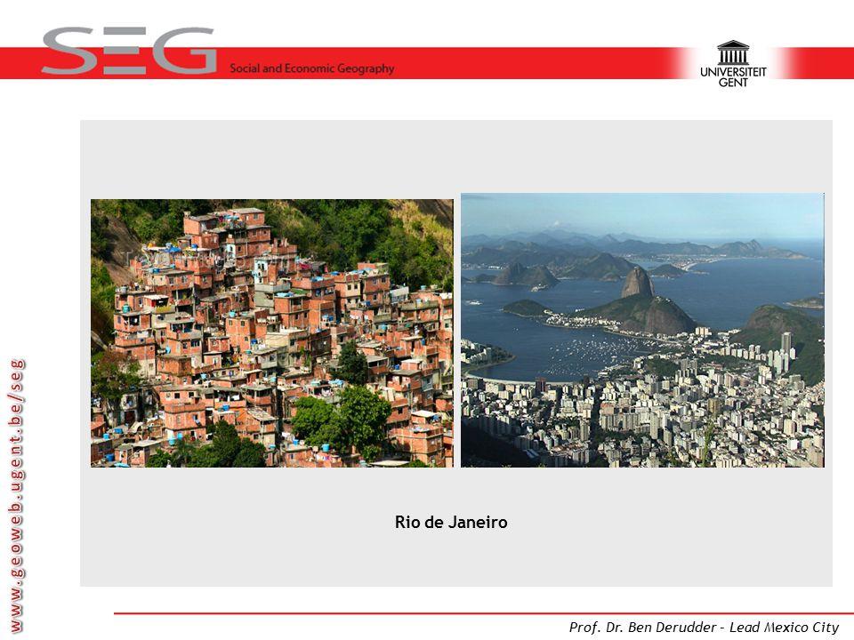 Prof. Dr. Ben Derudder – Lead Mexico City Rio de Janeiro