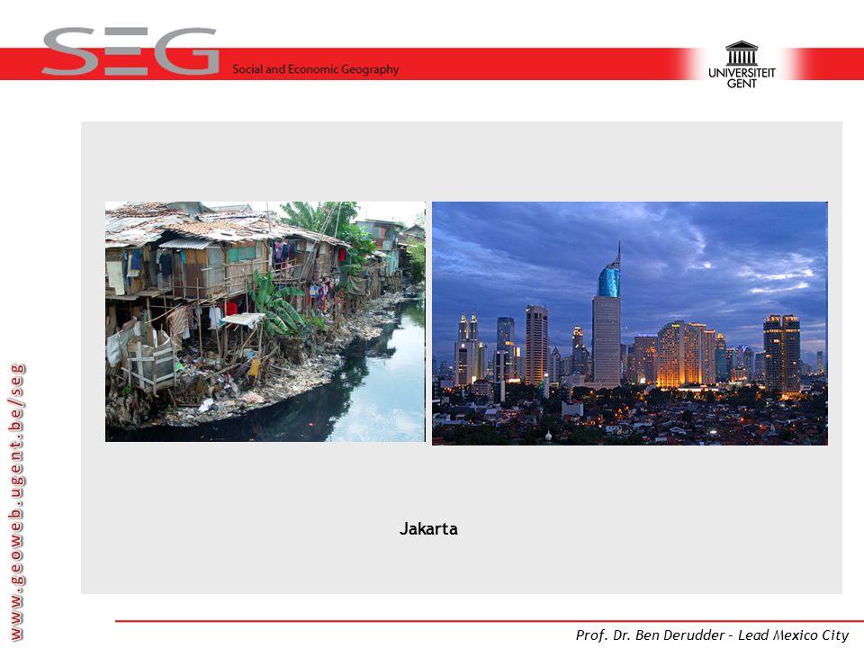 Prof. Dr. Ben Derudder – Lead Mexico City Jakarta