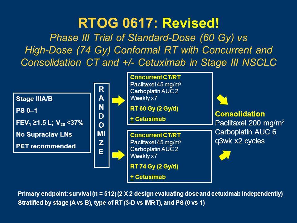 RTOG 0617: Revised.