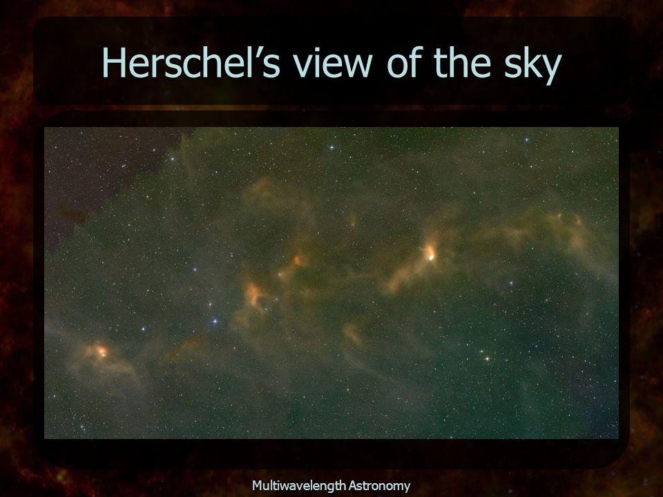 Multiwavelength Astronomy Herschel's view of the sky