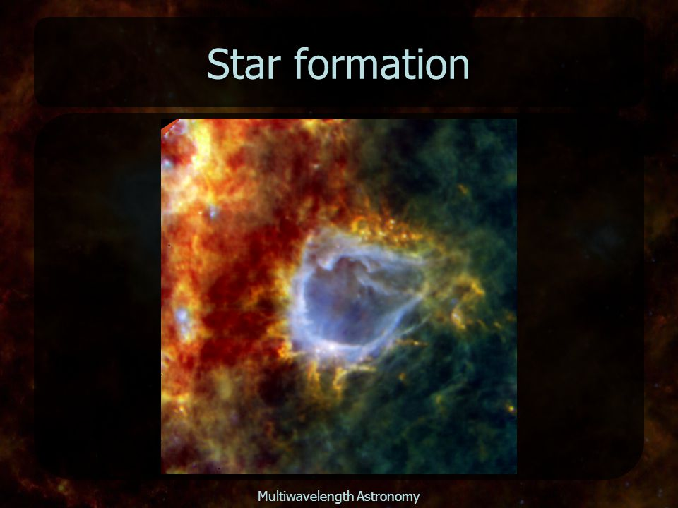 Multiwavelength Astronomy Star formation