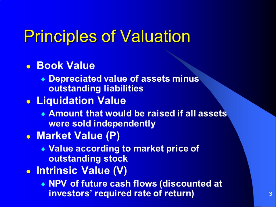 34 P/S Ratio Valuation l Using current sales, a company j is valued at industry ratios relative to sales: l l For companies w/o earnings, P/S is sometimes used l l If you have a sales forecast, company j is valued at historical ratios relative to sales: