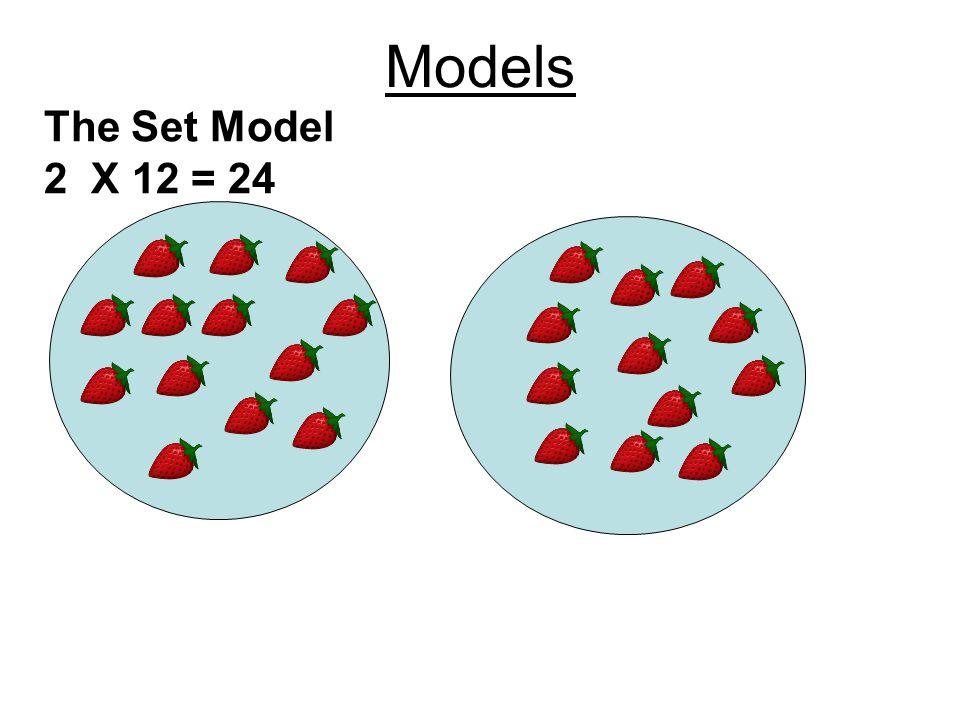 Models The Set Model 2 X 12 = 24