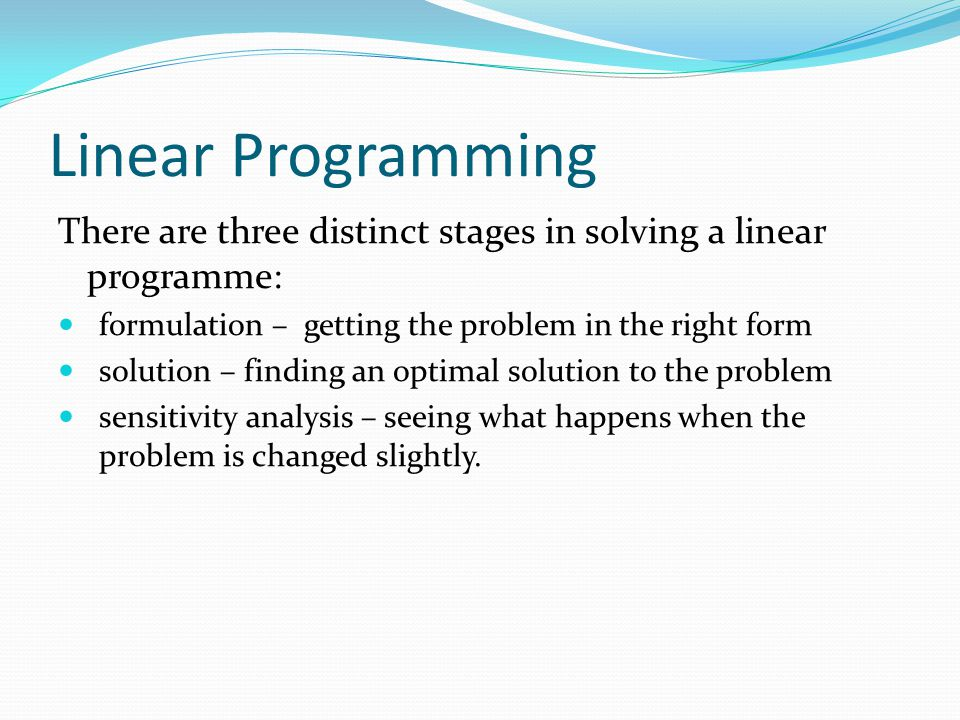 "Presentation ""Week 11, Chapter 12. Introduction To Linear ..."