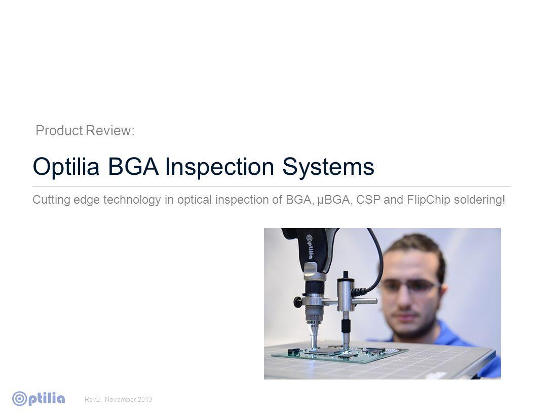Optical BGA Inspection vs.
