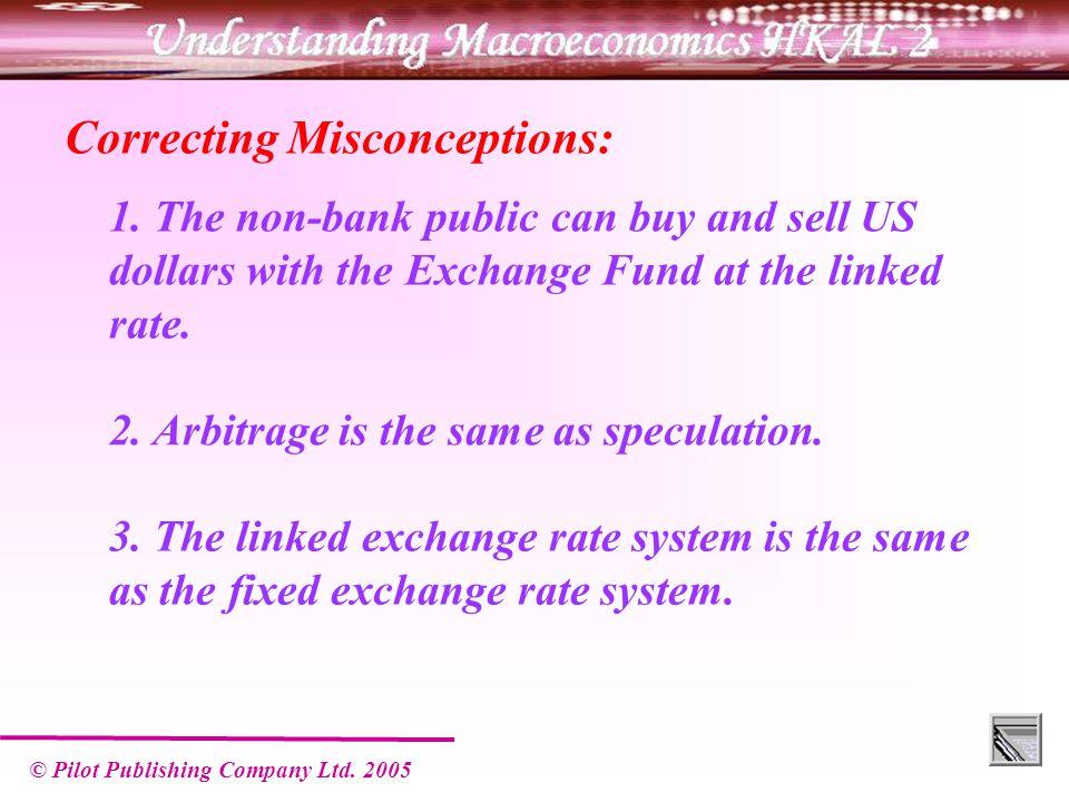 © Pilot Publishing Company Ltd.2005 Correcting Misconceptions: 1.