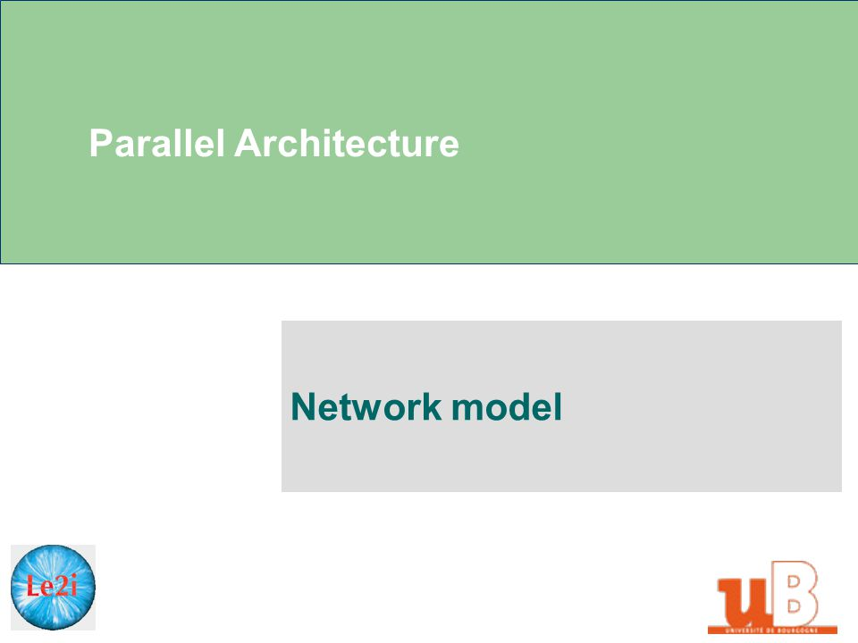 Parallel Architecture Network model