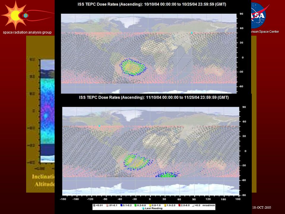 18-OCT-2005 Lyndon B. Johnson Space Center space radiation analysis group 9 SPACE WEATHER