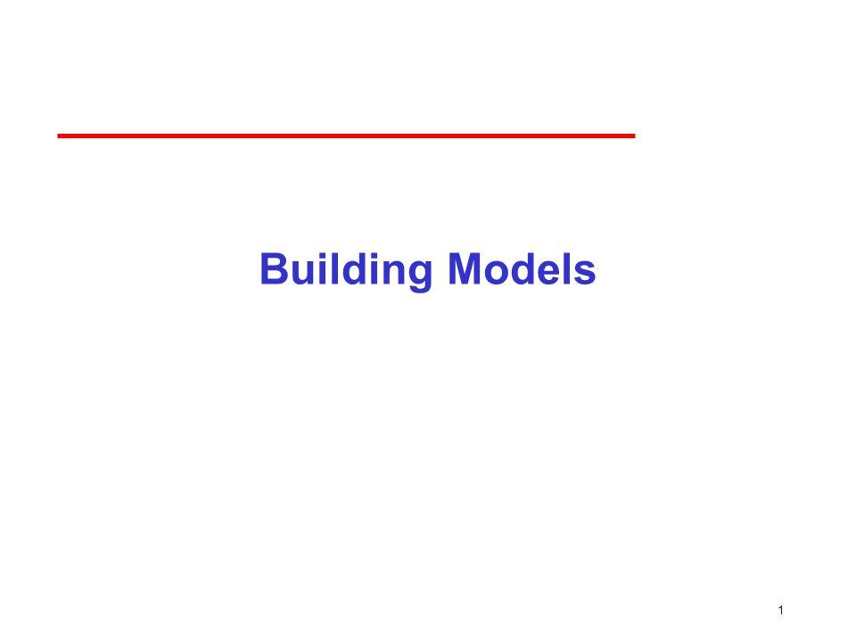 1 Building Models