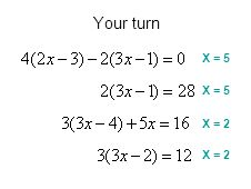 X = 5 X = 2