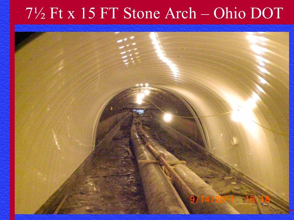 www.danbyrehab.com 7½ Ft x 15 FT Stone Arch – Ohio DOT