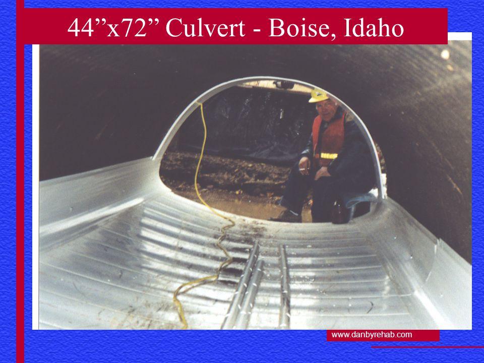 www.danbyrehab.com 44 x72 Culvert - Boise, Idaho