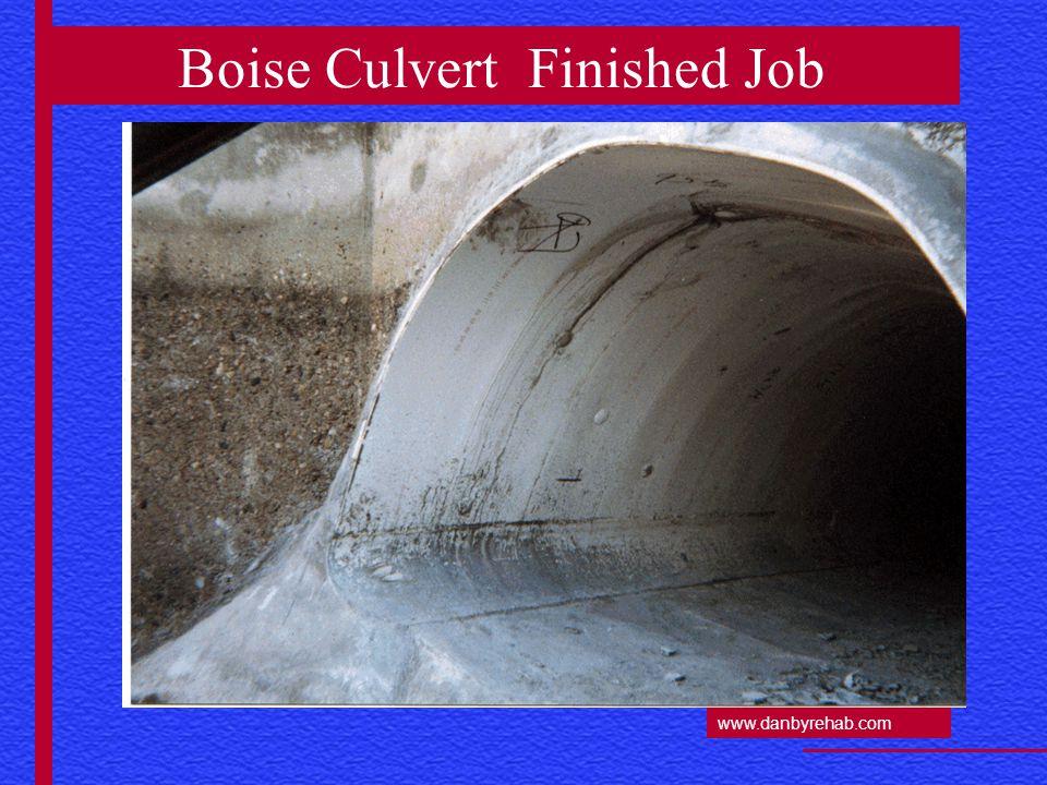 www.danbyrehab.com Boise Culvert Finished Job