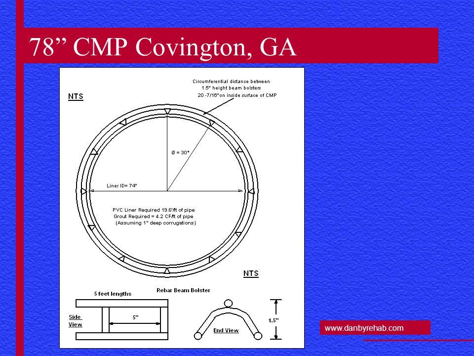 www.danbyrehab.com Twin 120 CMP Culverts - Illinois