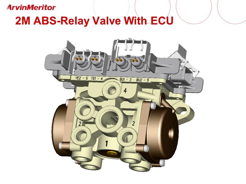 2M ABS-Relay Valve With ECU