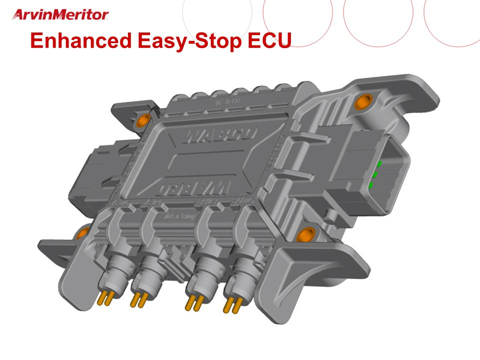 Enhanced Easy-Stop ECU