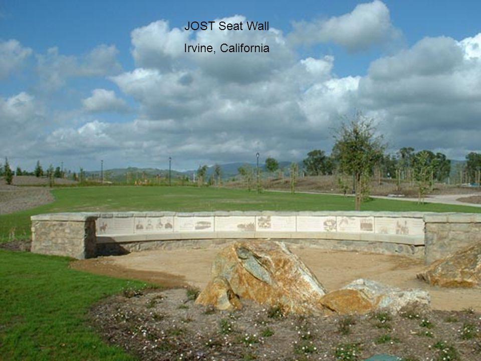 JOST Seat Wall Irvine, California
